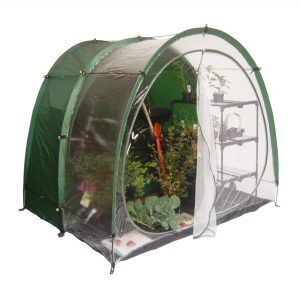 combined shed greenhouse