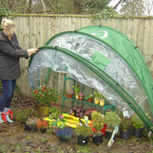HortiHood 90 perfect for the smaller garden or on your allotment
