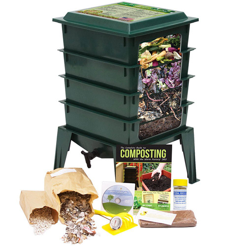 Turn your waste into top quality compost.