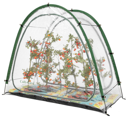 A greenhouse for even the smallest garden.