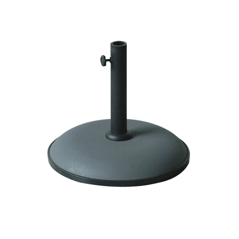 garden parasol concrete stand 15kg a concrete parasol base in a variety of colours. Black Bedroom Furniture Sets. Home Design Ideas