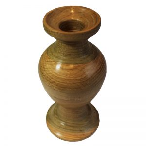 Beech Wood Candle Holder