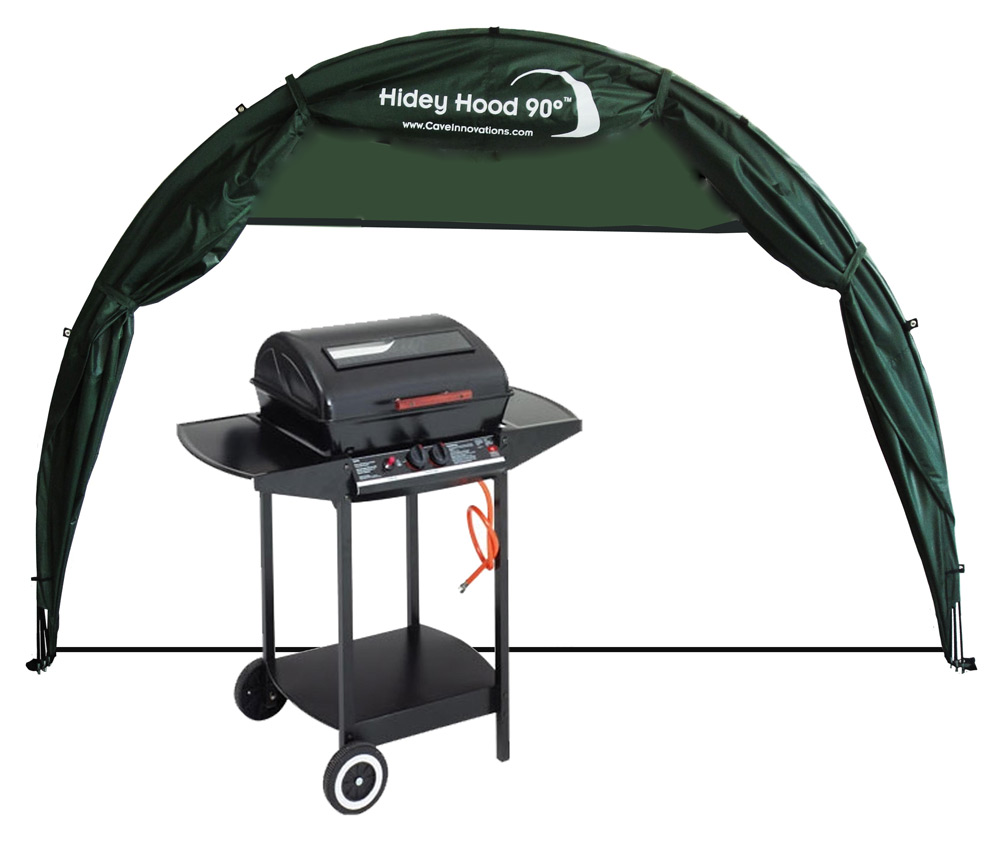 HideyHood 90 BBQ Shelter cutout