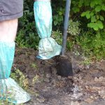 waterproof shoe covers used for gardening