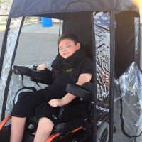 Under The Weather Shelter Tent wheelchair access