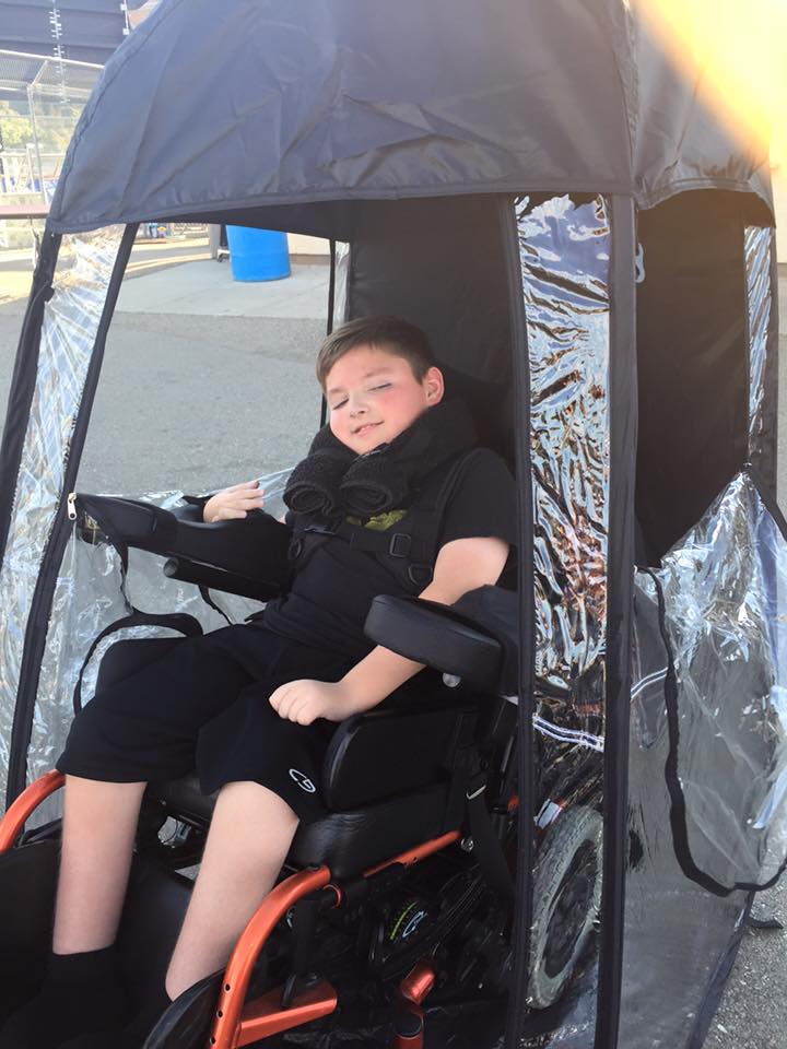 Under The Weather Shelter Tent wheelchair accesable
