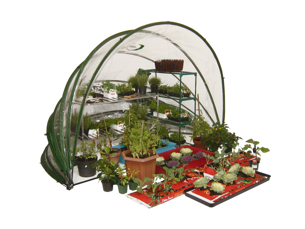 Horti Hood 180 PVC Greenhouse from Cave Innovations