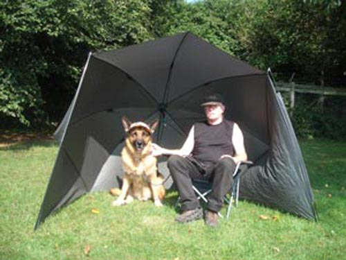 BivvyBrolly Dog Show