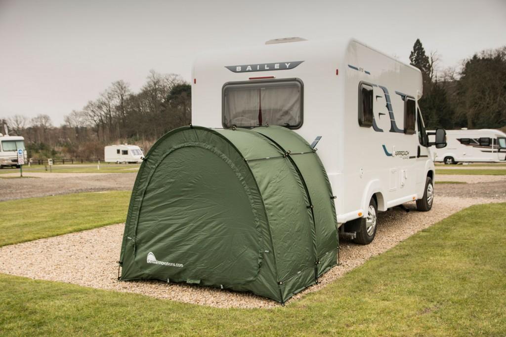 CampaCave extended by caravan