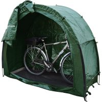 Tidy Tent Bike Cave with bike