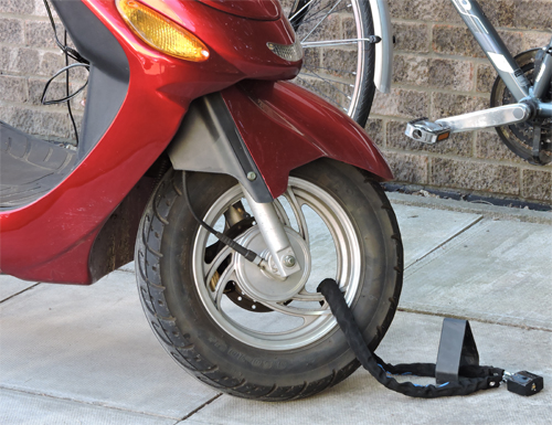 Motorcycle Security with Anka Point