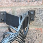 Bicycle Lock Secured with Anka Point