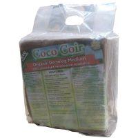 Coconut coir organic growing medium