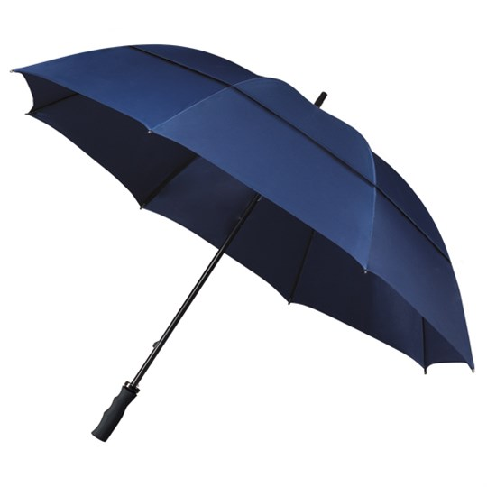 ECO Strong Windproof Golf Umbrella - Navy