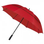 ECO Strong Windproof Golf Umbrella - Red