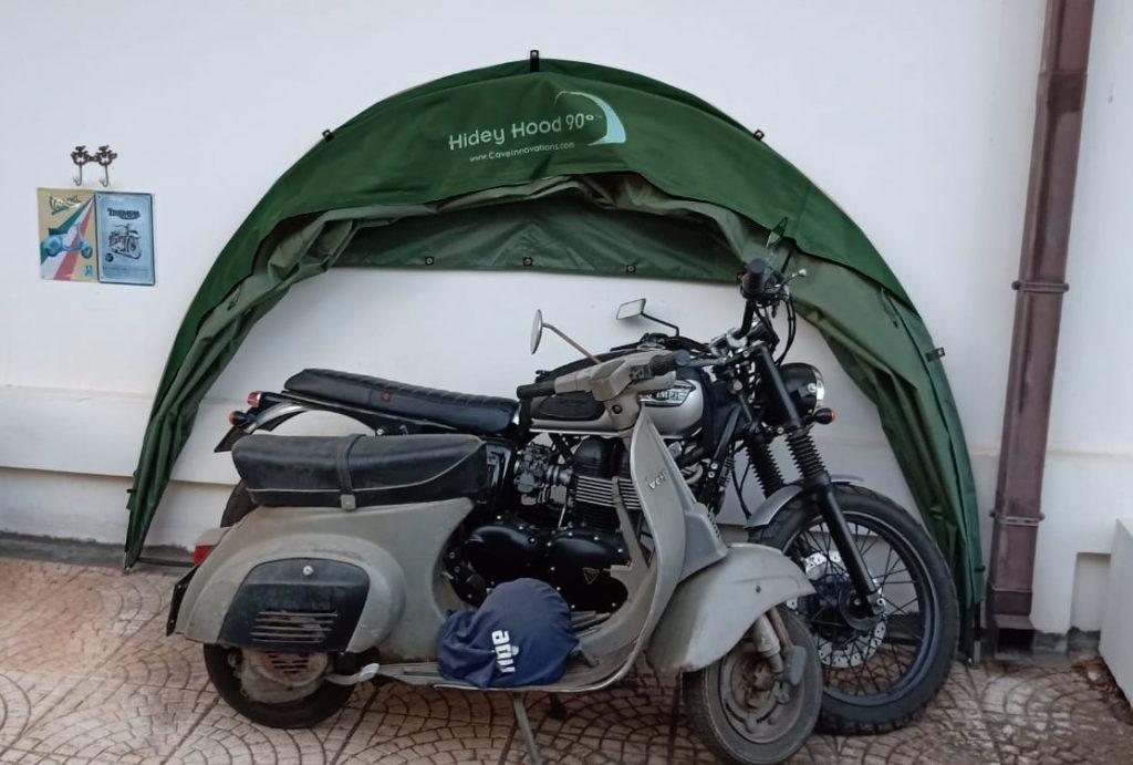 Triumph Bonneville Motorbike Cover