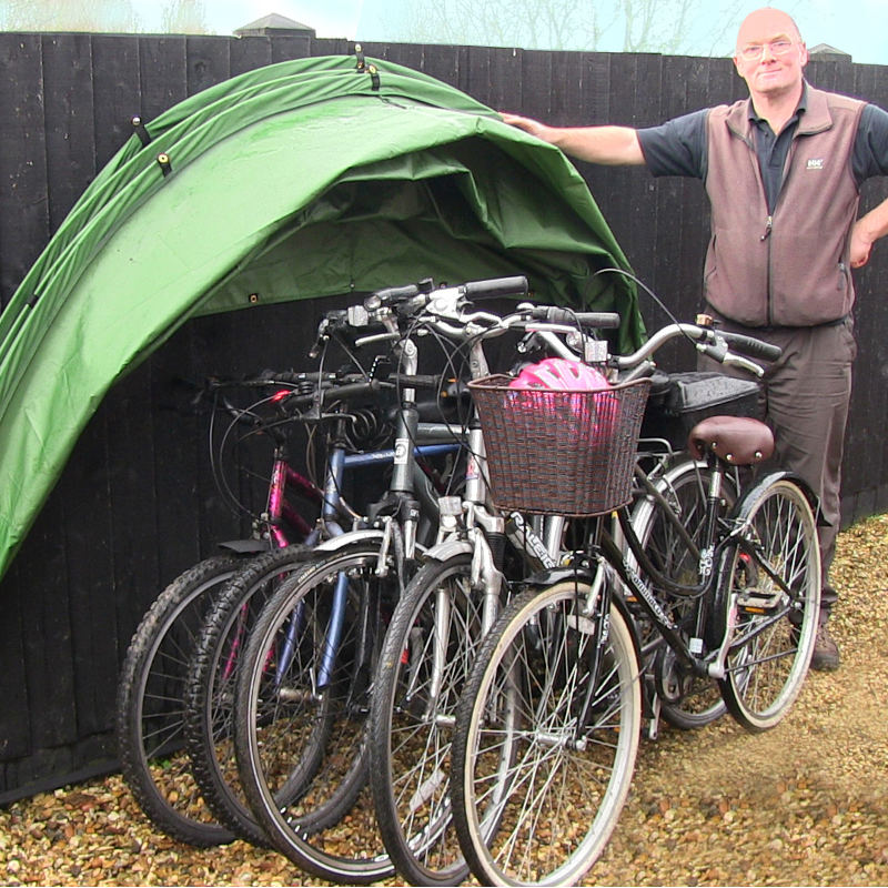 Bike Storage Solution - The HideyHood 90