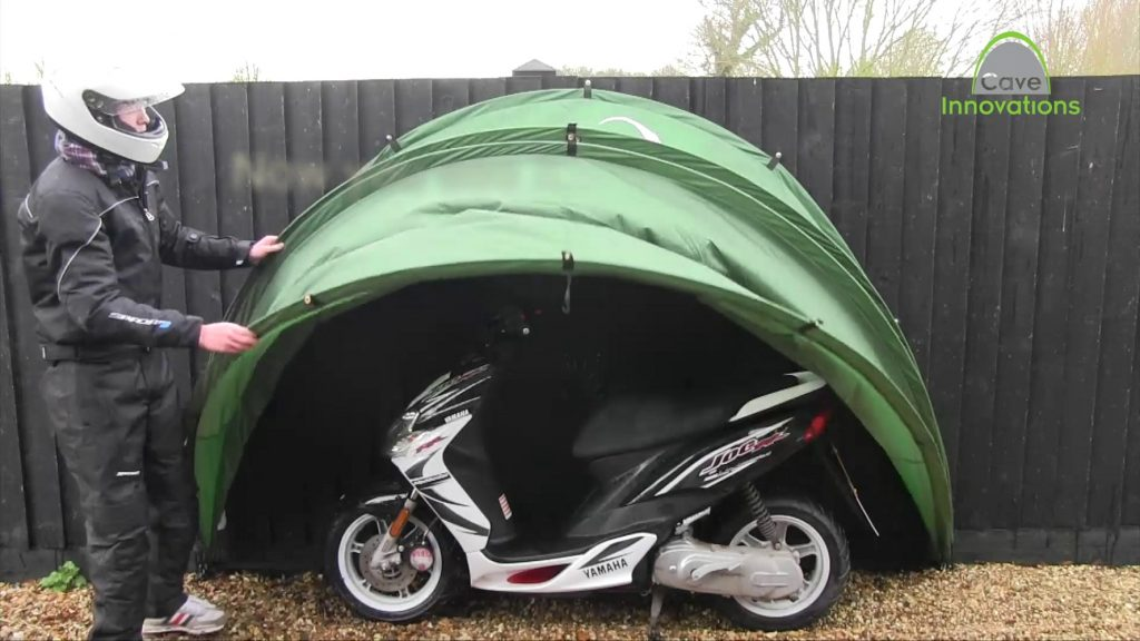 HideyHood 90 Moped Shelter 4