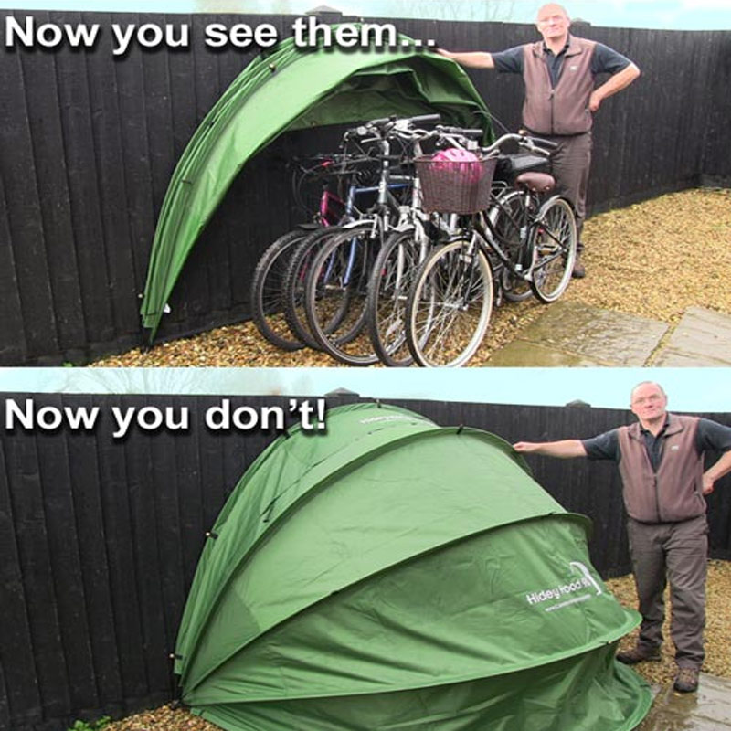 mobility scooter cover bikes & Hidey Hood HideyHood 90 Outdoor Storage Scooter Shelter Cover