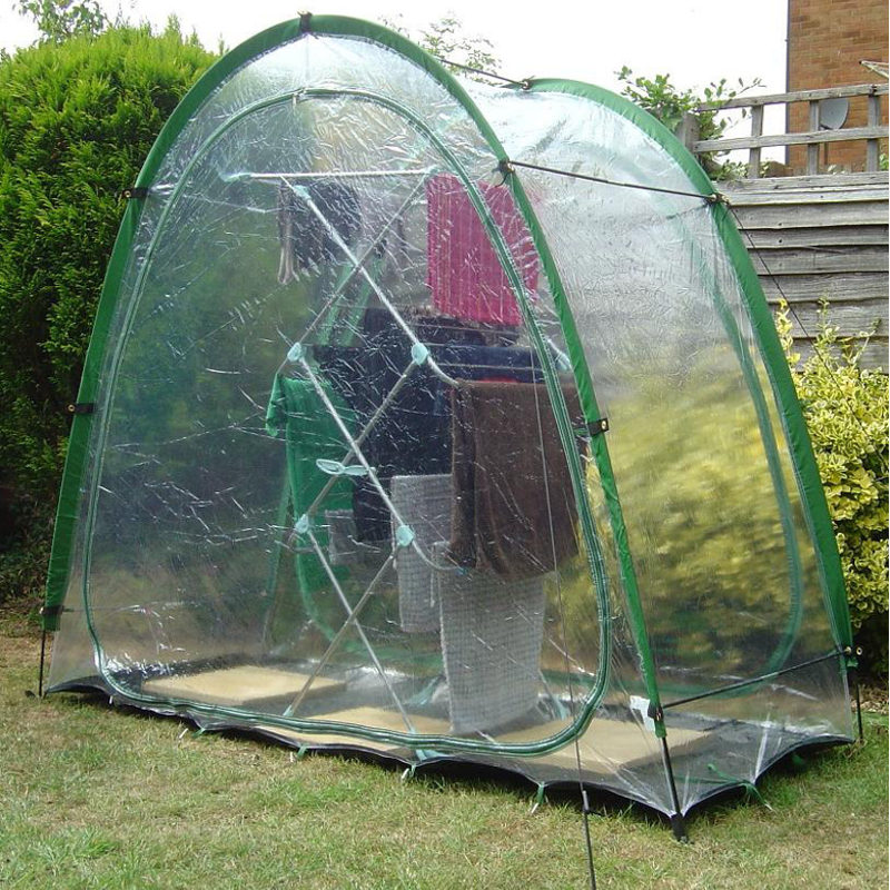 laundry dome in use