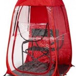 Under The Weather Shelter Tent red