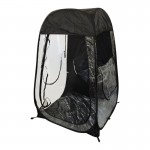 Under The Weather Shelter Tent black open