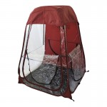 Under The Weather Shelter Tent maroon roof