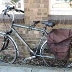 Bicycle Secured Using Anka Point