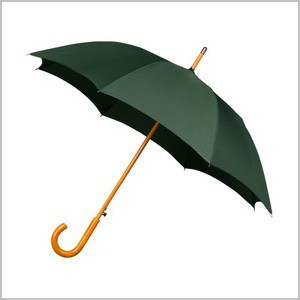 Umbrellas available in a choice of colours