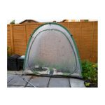 Culti Cave mini greenhouse with mesh door fitted