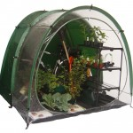 CombiCave combined greenhouse shed tent system