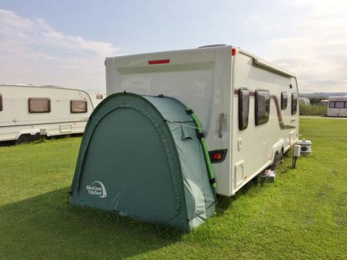 CampaCave with caravan
