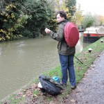 Under The Weather Shelter Tent backpack by canal