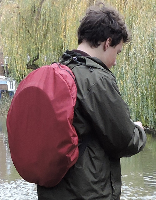 Under The Weather Shelter Tent backpack