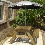 Silverback UV Garden Parasol