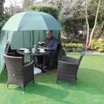 Shelta-Shade SheltaShade garden sunshade