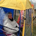 Under The Weather Shelter Tent woman