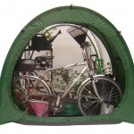 CombiCave combined greenhouse shed tent
