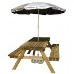 UV garden parasol - Silverback UV beach parasol