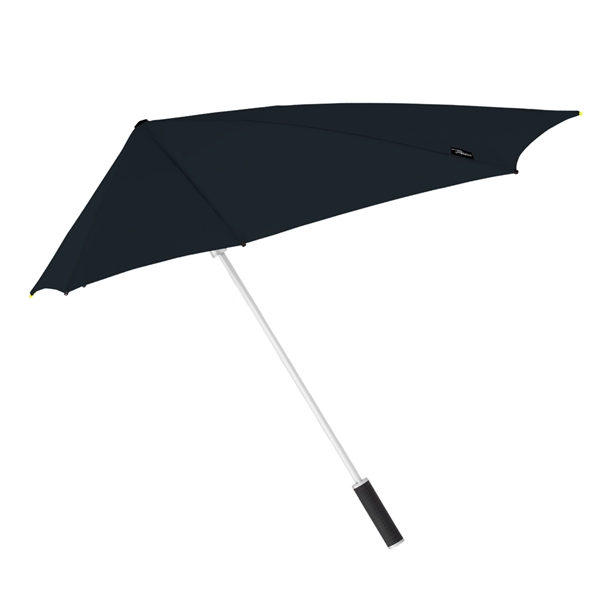 black stealth fighter windproof umbrella