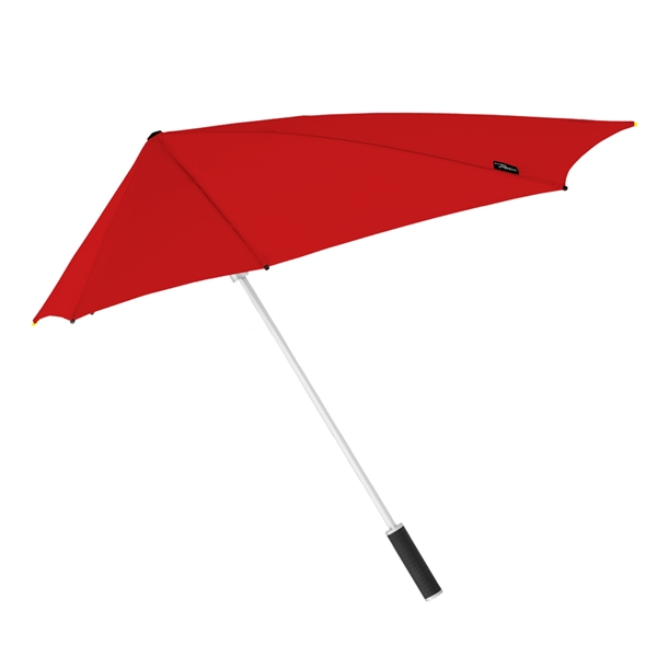 red stealth fighter umbrella