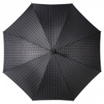 Check Pattern Walking Stick Umbrella