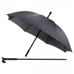 Checked Walking Stick Umbrella