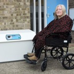 wheelchair accessible drop box