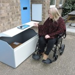 wheelchair accessible parcel box