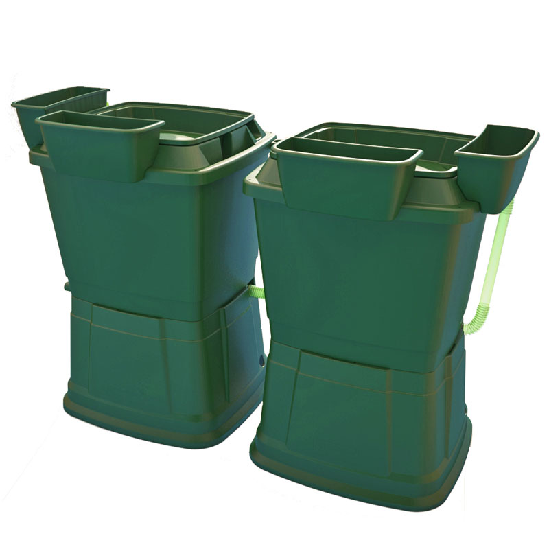 1-tier-134-dark-green rain water butt