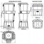 Rainwater Harvesting water butt schematics