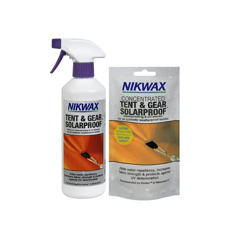 Nikwax Tent Spray sachet or spray bottle