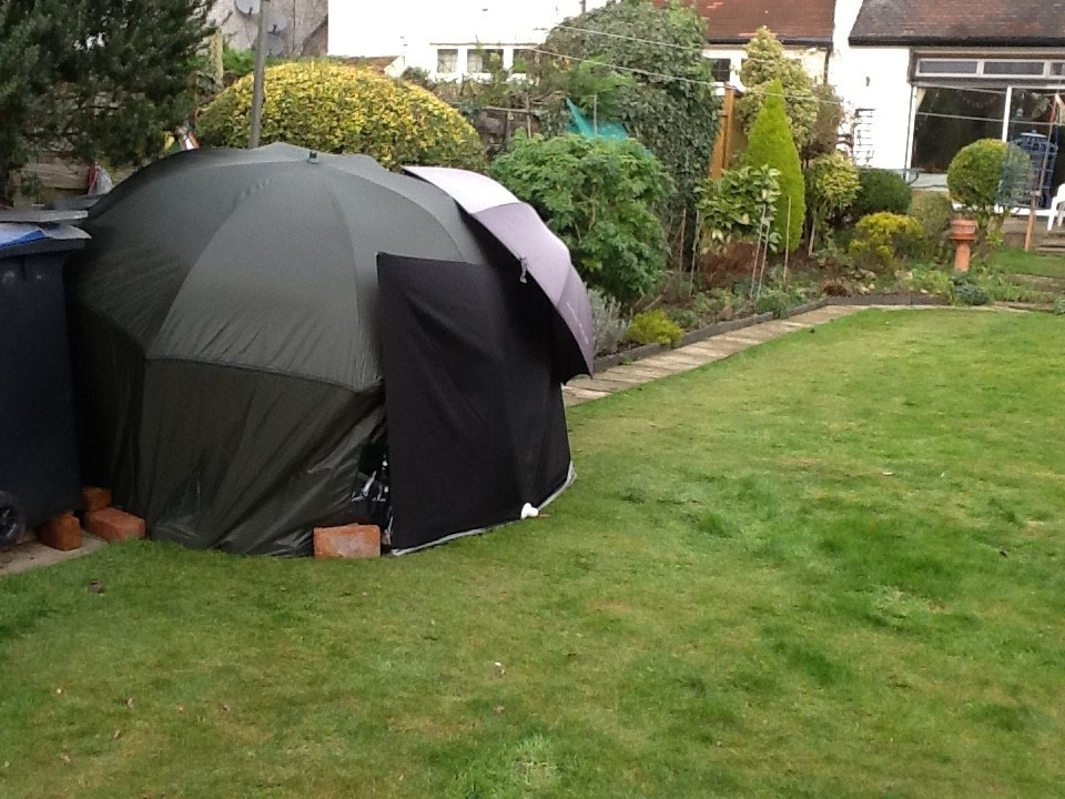 Rob McAlister Fishing Umbrella Shelter