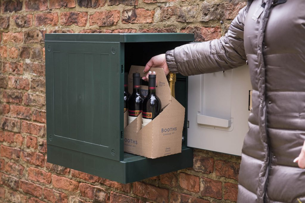 Compact Delivery Postbox Wine Delivery